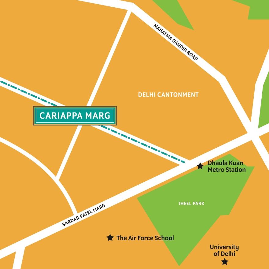 CariappaMarg